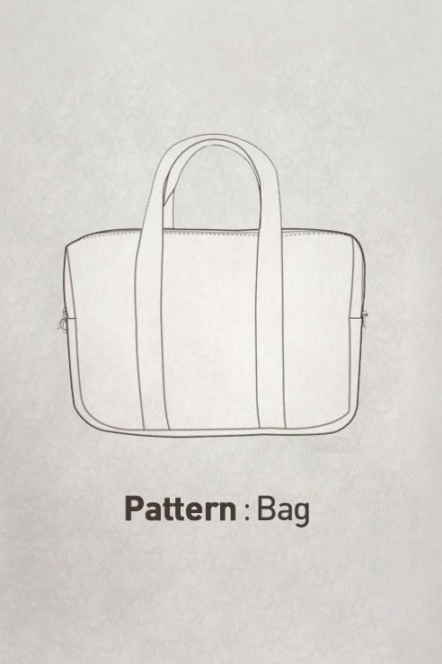 Boston Bag Pattern CTV-097