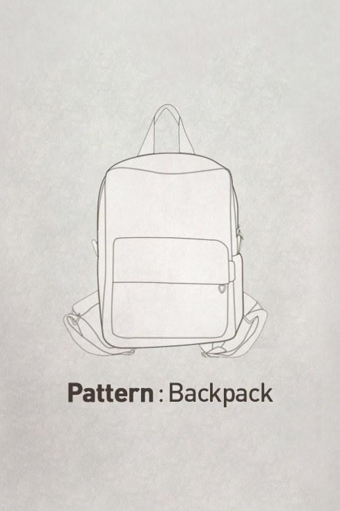 BackPack Pattern CTV-111