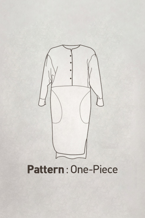 Dress Pattern CTV-092(Adult)