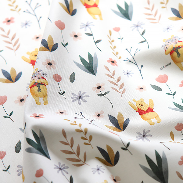 Cotton 20 Woven Plain - Pooh Blooming