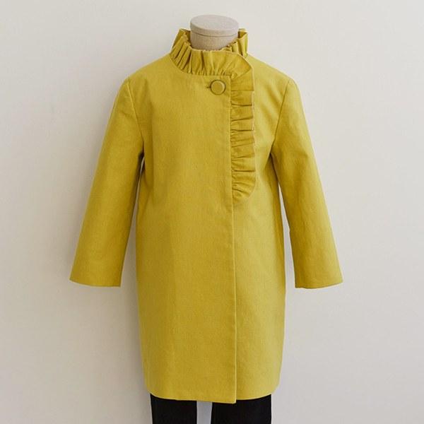 Ruffle coat pattern TH-103(Child)
