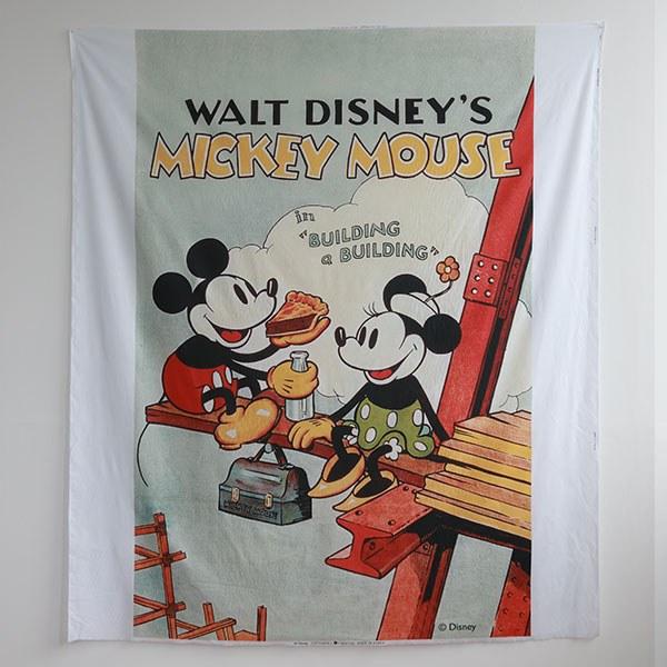 [Art Fabric _ Disney] Cutting cotton bedding Mickey