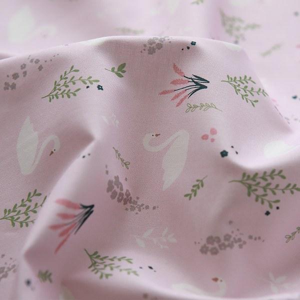 Cotton 20 Plain Plain - Swan Lake Pink