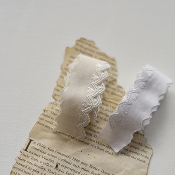 1 Peel) Cotton Lace _ Mini Heart 2