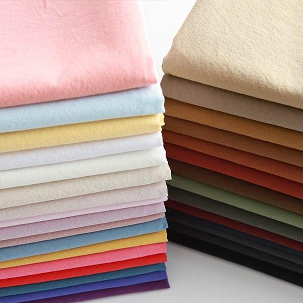 "Washed Cotton-Kohas, 33colors(59"")"