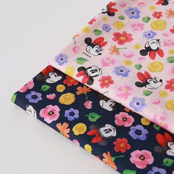 "Cotton sheeting-Disney-Romantic Minnie, 2colors(44"")"