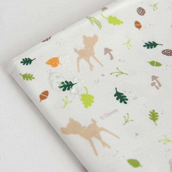 "Laminated Cotton-Disney-Bambi Ombre Multi Ivory(44"")"