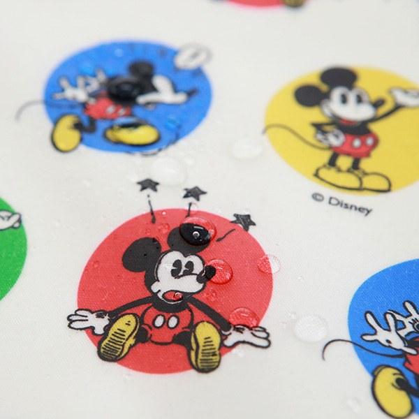 """Laminated Cotton-Disney-Neo Wappen Mickey Ivory(44"""")"""