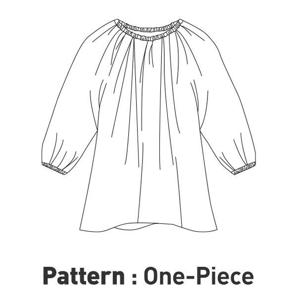 Dress Pattern CTV-013(Child)