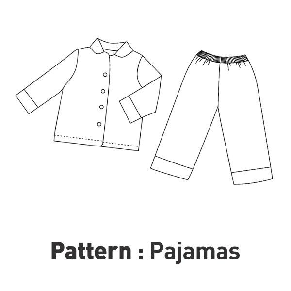 Children's Pattern - Pajamas Set CTV-015