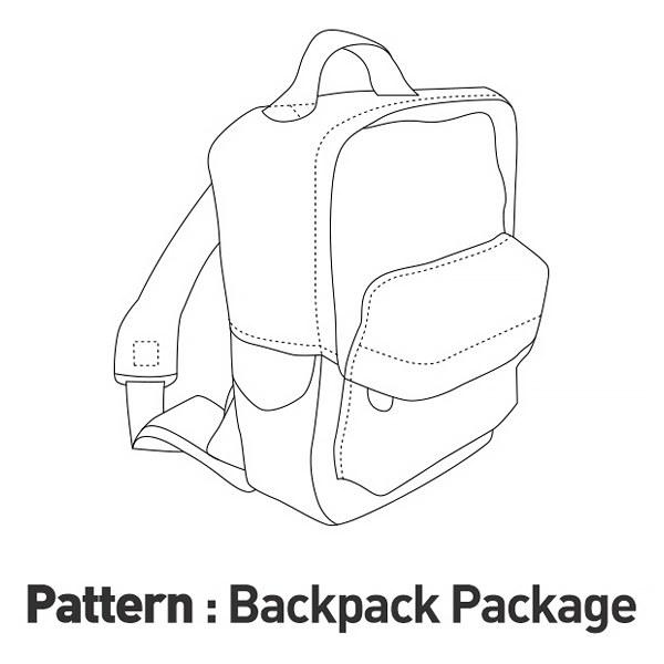 Bag Set Pattern CTV-026