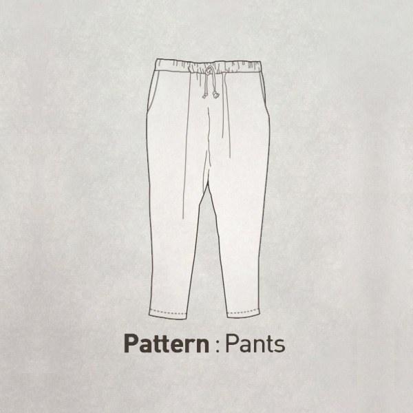 Pants Pattern CTV-093(Adult)