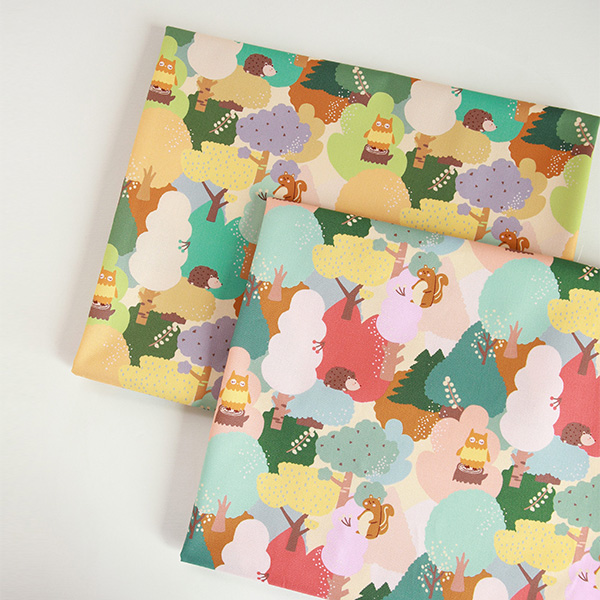 """Cotton sheeting-Animal Dream, 2colors(44"""")"""