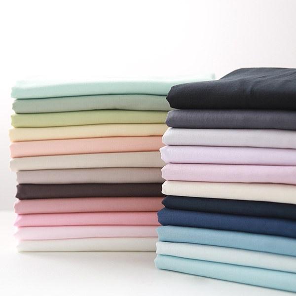 """Cotton Double Gauze-Organic Powder, 23colors(60"""")"""