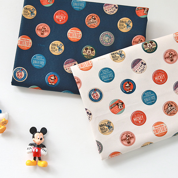 """Cotton Oxford-Disney-Resin Mickey Friends, 2colors(58"""")"""